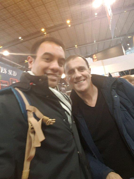 Thierry Beccaro et moi