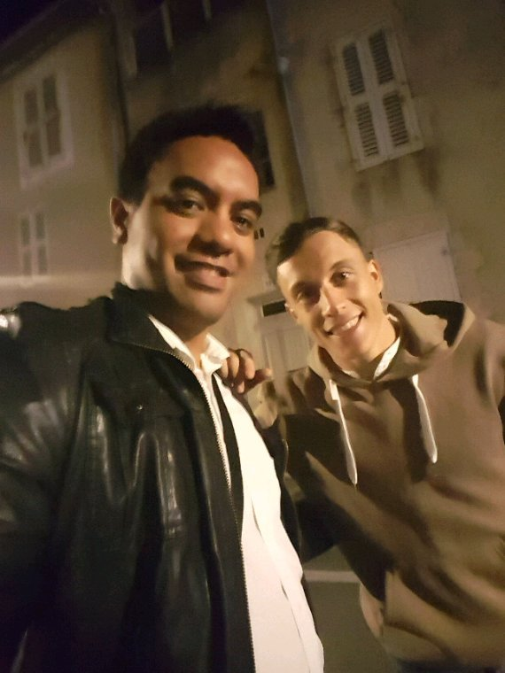Loïc Nottet et moi