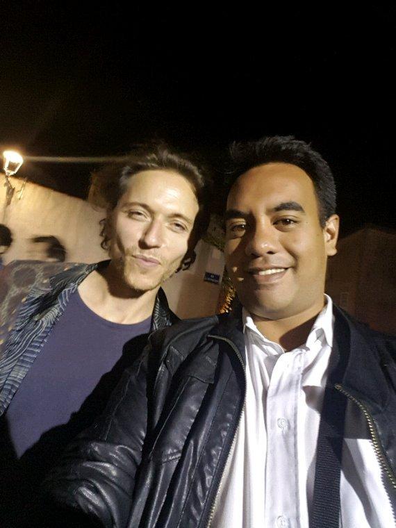Raphaël Haroche et moi