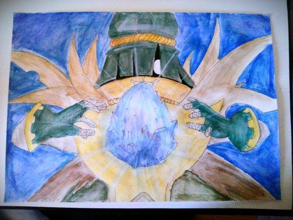 Première peinture