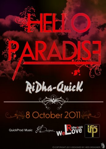 We Love Ridha-Quick /  Ridha-Quick _ Hello Paradise (2011)