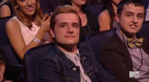 josh hutcherson mtv movie award 2014
