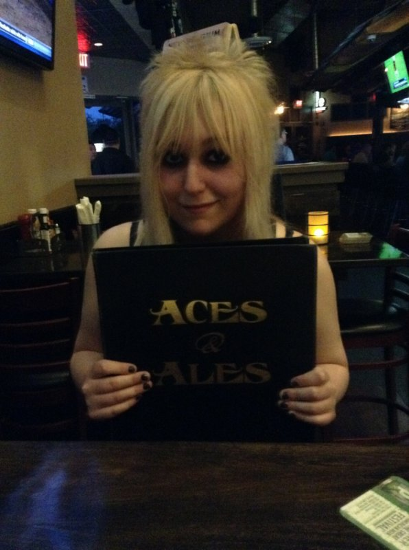 At Aces & Ales !