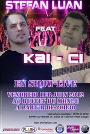 Show Live le 1er Juin 2012 au Buffet du Monde à Limoges à partir de 20h30 ;-)