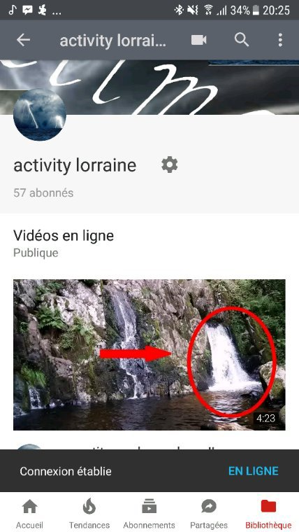 Qui as vue ma derniere video