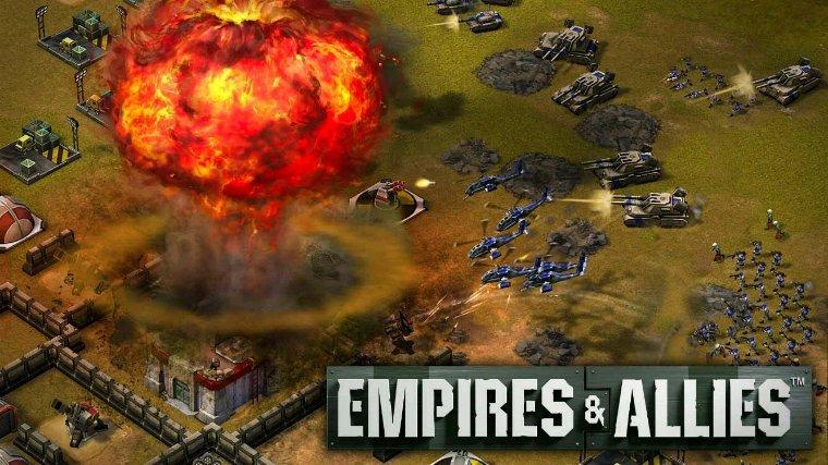 Rejoignez vos amis, formez des alliances et dominez le monde ensemble dans Empires & Allies!