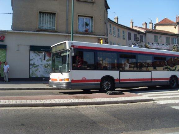 Ligne 55 à Demi-Lune Vauboin