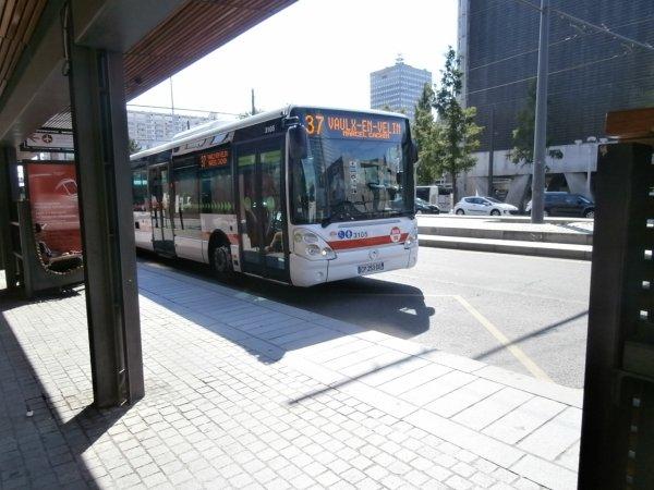 Ligne 37 à Gare Part-Dieu Vivier Merle