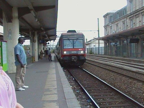 RER D à Saint Denis