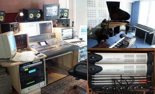 Studio du label 187Recordz