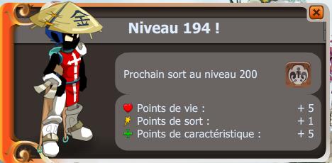 Très Grosse XP + Des levels ! :D