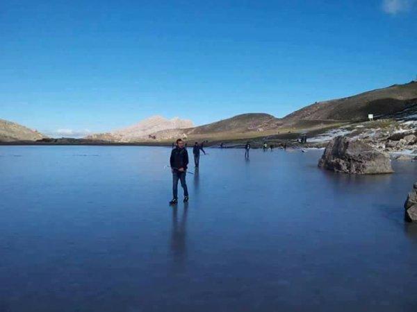 Marcher sur l'eau?