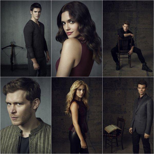 Zap2it nous dévoile un shoot inédit de la saison 4, mettant cette fois ci tout le cast à l'honneur ! Des clichés très réussis :