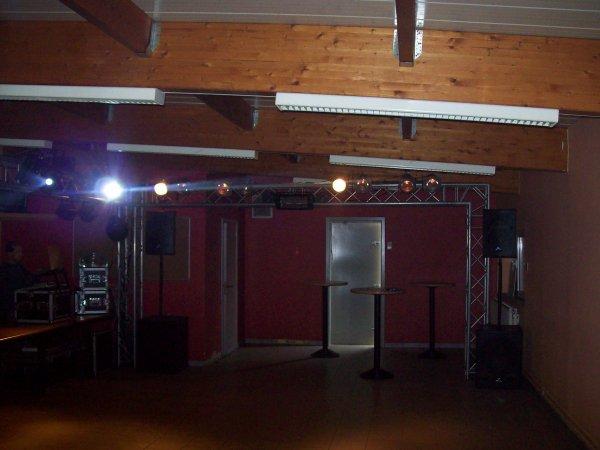 Préparation soirée rétro house à Andoy