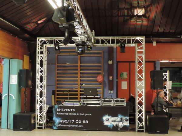 Montage sono à Spy pour l'association rêve bleu le 14/02/2015