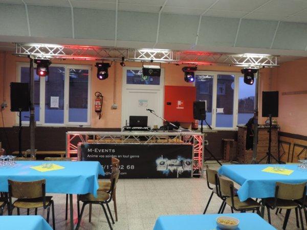 Montage Sono à Wanfercée - Baulet pour un anniversaire le 21/03/2015