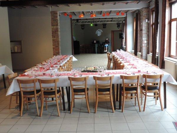 Soirée Mariage à l'Auberge en Folie à Colfontaine le 25/07/2015
