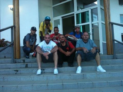 l'equipe de la résidence rap
