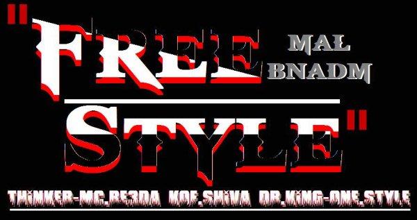 Thinker Ft. Mc-Ra3da Ft. Kof Shiva One-Style Ft. Dr.King : Mal Bnadem Free Style (2011)