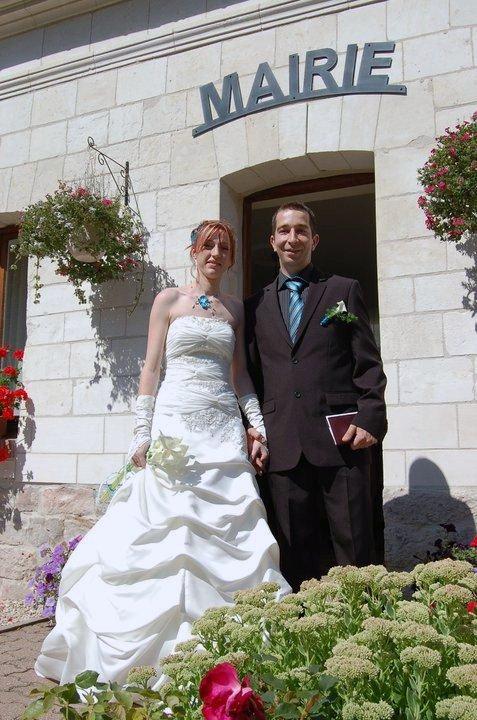 mariage de ma fille samantha&johann le 20 aout 2011