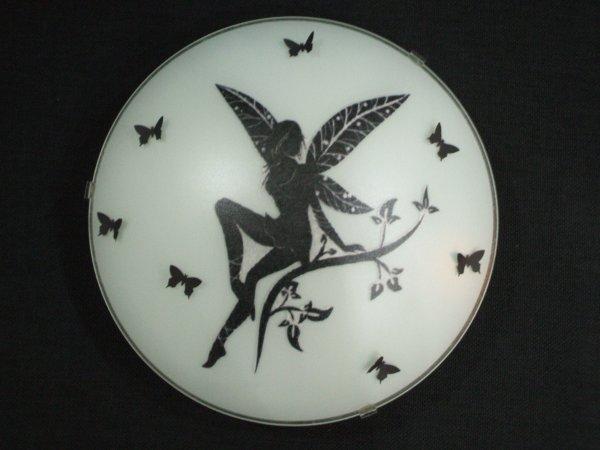 plafonnier elfe et papillons