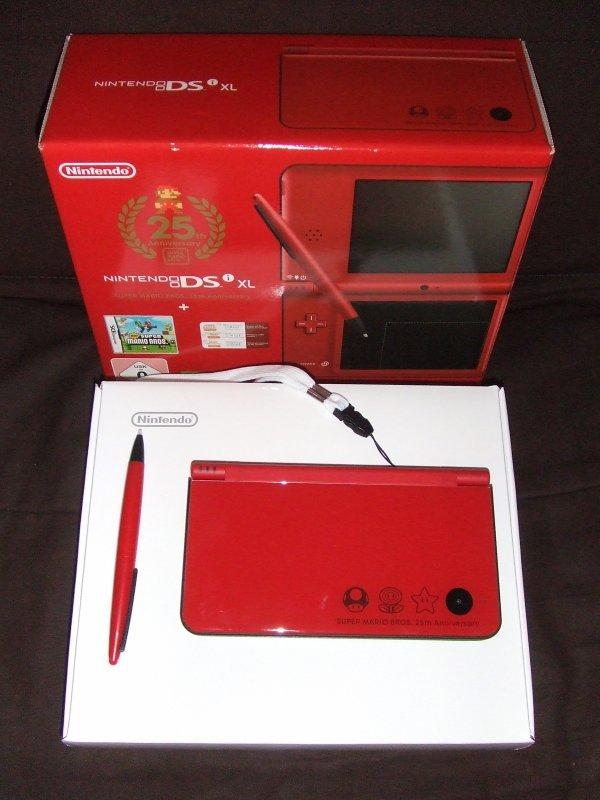 Nintendo DS XL Mario 25 ans