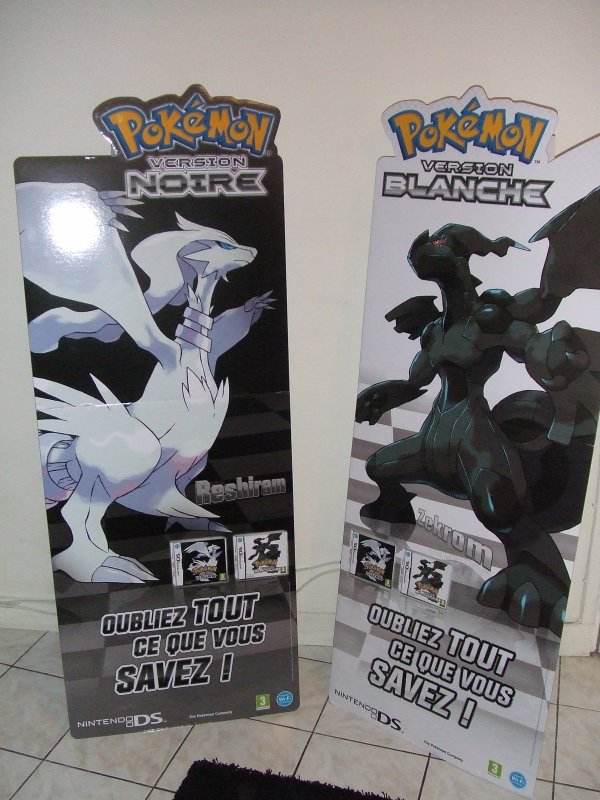 PLV Pokemon Black/White