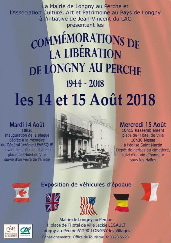 LIBÉRATION DE LONGNY AU PERCHE 2018
