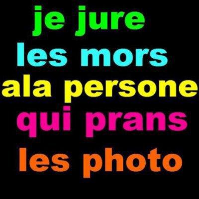 SA C POUR LES MANGE MERDE JE JURE LES MORT A CE LUI KI MES DES MOVE COM ET KI VOLE DES FOTO