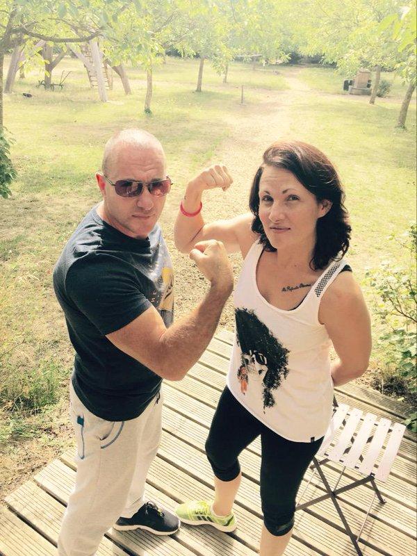 Pascal Soetens, Carine et Christelle