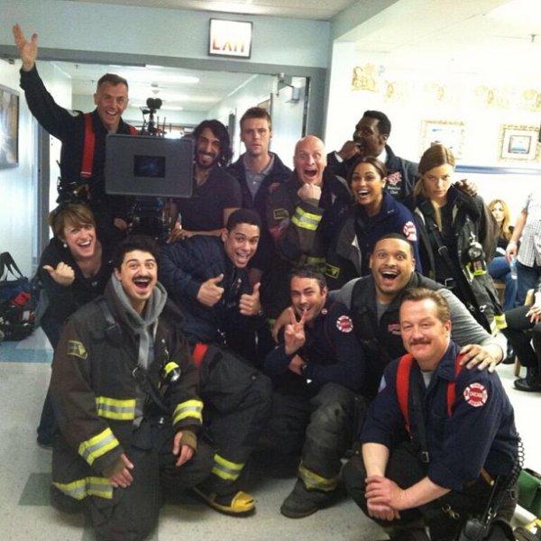 Chicago Fire de Retour sur 13 ème Rue. Tous les lundis soir à 20h55