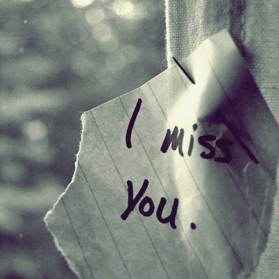 Un vide en Moi Depuis que tu es Partie... I miss You