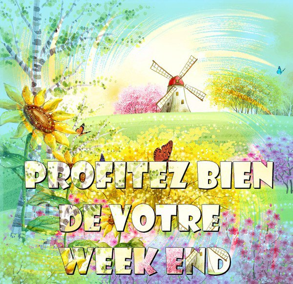 BON WEEK-END DE LA PENTECOTE