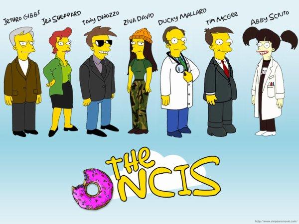 NCIS en mode Simpsons X) <3