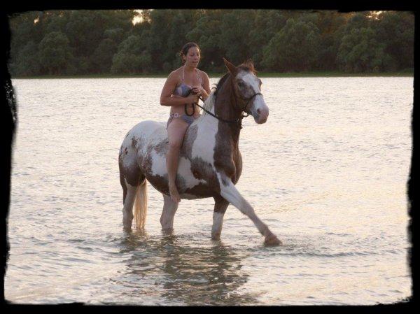 Vacance au lac avec mon loulou