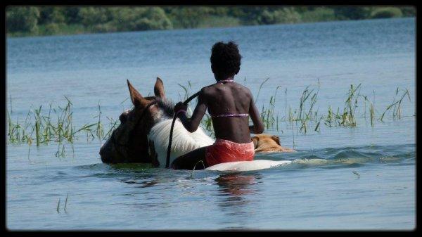 Vacances au lac (à Géraudot 10)