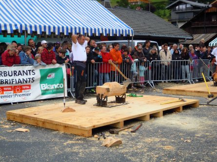 Concours en Savoie  à Chatel (74)