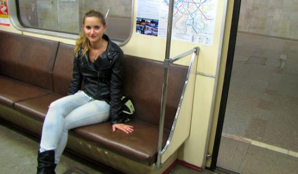 Premiere visite de l'hotel et du metro Moscovite