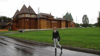 Deuxième journée à Moscou - sous la pluie