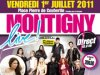 2011 Jun 30 - Melissa Mars au concert de D!RECT FM 01/07