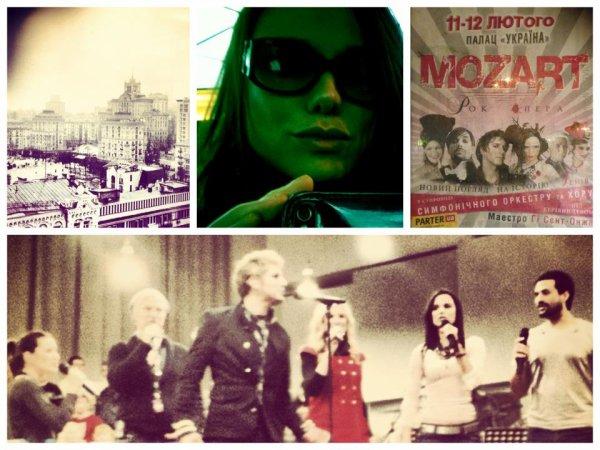 2013 Feb 13 - Melissa Mars & Mozart l'Opéra Rock à Kiev