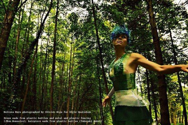 2013 June 26 - Melissa Mars transformée en fée des bois par Style Quotidien