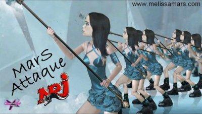 2011 Oct. 24 - Pour que Melissa Mars puisse Danser sur NRJ .