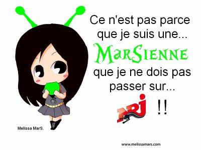 2011 Oct. 27 - Pour que Melissa Mars puis Danser sur NRJ