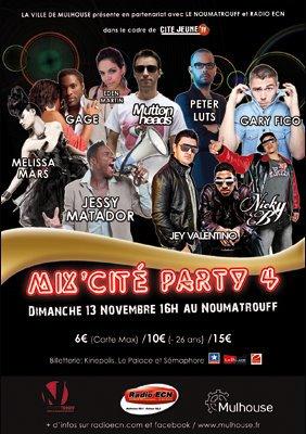 2011 Nov 6 - Melissa Mars sera à Mulhouse ce 13 Novembre