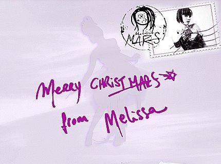 2011 Dec 25 - Melissa Mars vous souhaite un Joyeux Noël !