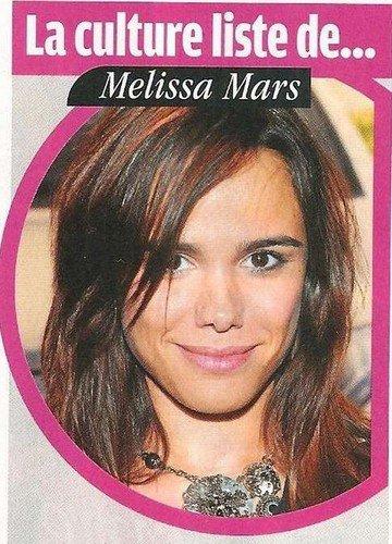 2012 Jan 02 - La Culture liste de Melissa Mars.