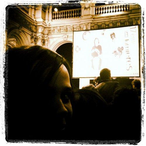2012 Jan 13 - Melissa Mars à la 17ème cérémonie des lumières