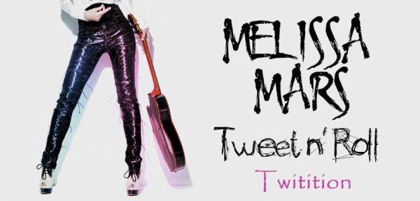 2012 Oct 8 - Signez la Twitition pour que Tweet N' Roll de Melissa Mars passe à la radio :)