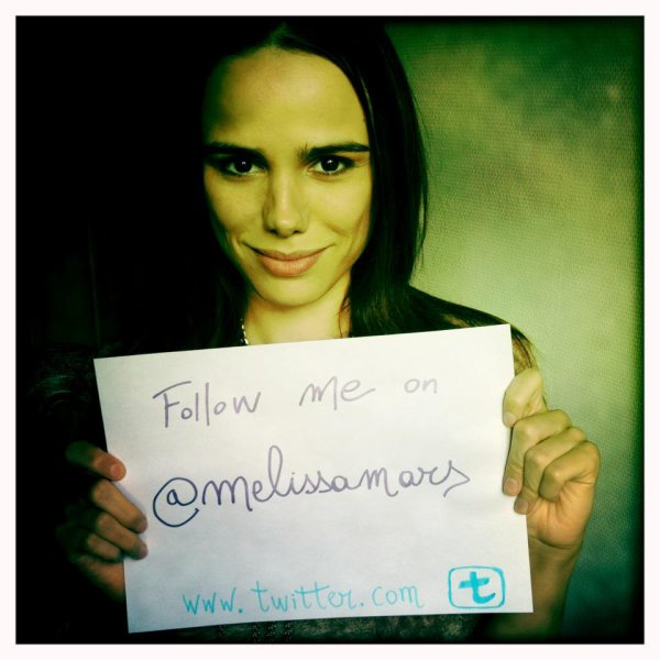 2012 Mar 21 - Suivez Melissa Mars sur Twitter & assister à sa Twitcam